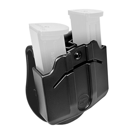 Orpaz Magazine Holster / Magazine Pouch with Paddle Attachment, Fits 2x Double Stack METAL (Best Double Stack Subcompact 9mm)