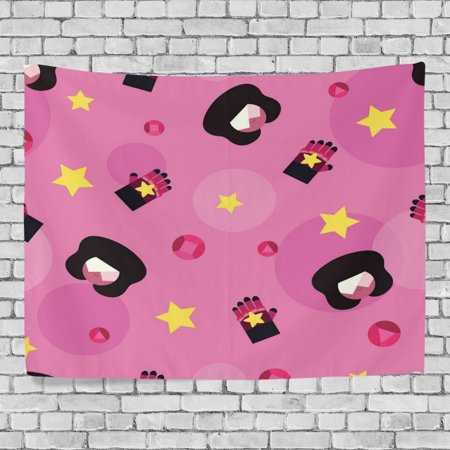 Sister Tapestry - POPCreation Pink Sister Home Decoration Wall Tapestry 60x51 inches