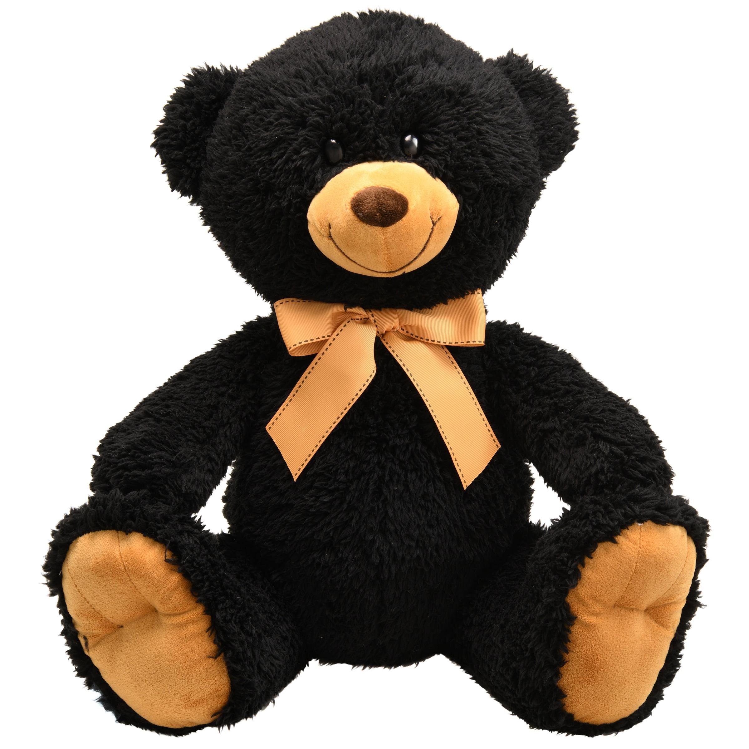 Spark Create Imagine Plush Large Teddy Bear Black Walmart Com