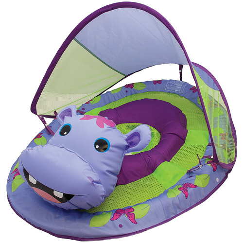 SwimWays Baby Spring Float Animal Friends, Hippo