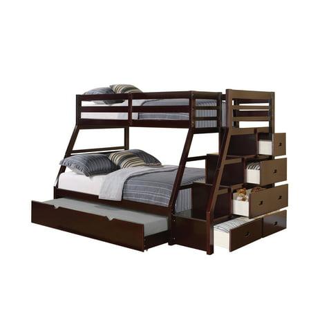 Jason Espresso Twin Over Full Bunk Bed