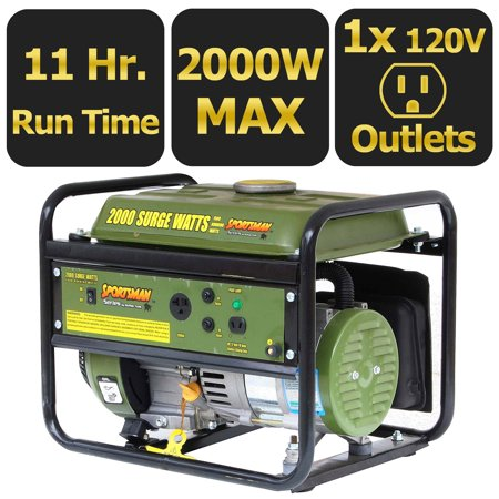 Sportsmans Series 2000-Watt Portable Generator