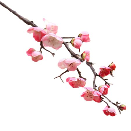 Simulation Chinese Dry Branch Small Plum Blossom Real Touch Home Table Festival Decorative Artificial Fake Flowers