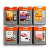 DaySpring, Birthday, Bundle of 6 Boxed Cards (72 Total Cards, 24 Designs), 675585126