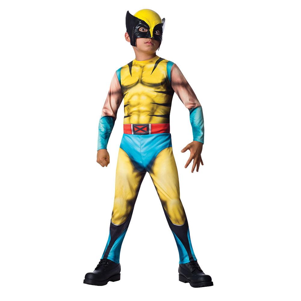 Boys The Wolverine Jumpsuit Halloween Costume