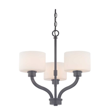 Dolan Mill (Dolan Designs Kalina 3-Light Shaded Chandelier )