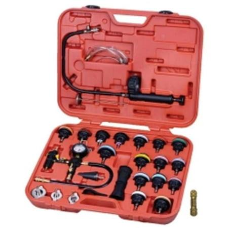 Radiator Cap Tester - FJC FJC43664 Radiator & Cap Pressure Tester Kit