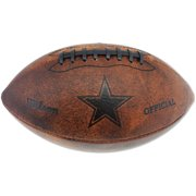 "Wilson 11"" Junior Throwback Football, Dallas Cowboys"