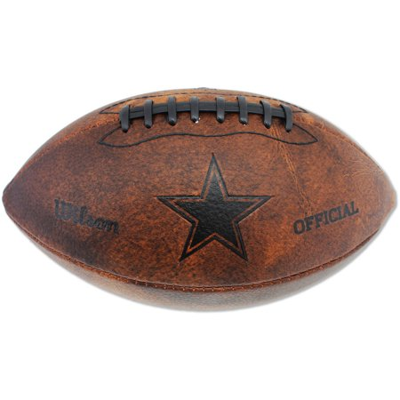 "Wilson 11"" Junior Throwback Football, Dallas Cowboys"