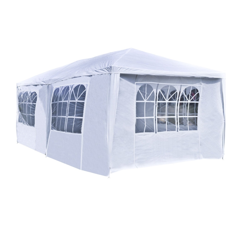 Aleko Tent for Outdoor Picnic Party or Storage 20 x 10 White by ALEKO