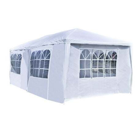 Aleko Tent for Outdoor Picnic Party or Storage - 20 x 10 - White