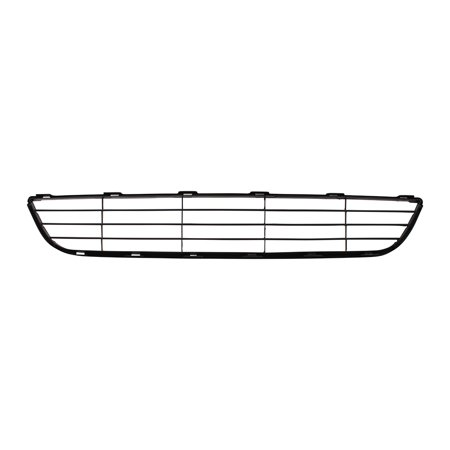 BROCK Front Lower Center Bumper Grille Textured Black Replacement for 07-08 Toyota Yaris Sedan 5311252240 TO1036108 (2008 Toyota Yaris Bumper)