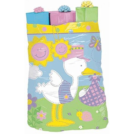 Giant Gift Bag Huge Plastic Gift Sack For Baby Shower 1 Per