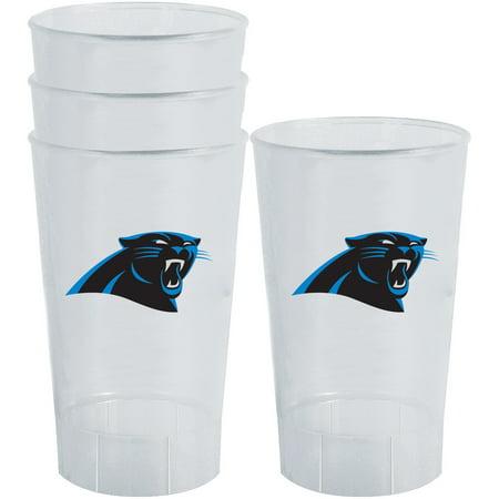 Carolina Acrylic - Carolina Panthers 16oz. Acrylic Tumblers 4-Pack Set - No Size