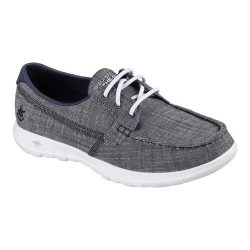 go walk lite-15433 boat shoe,navy,5.5
