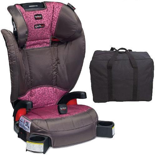 Britax - Parkway SGL G1 1 Belt-Positioning Booster Seat with Travel Bag - Cub Pi