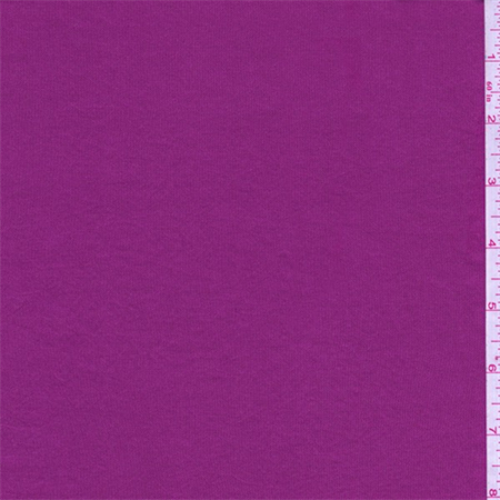 Fuchsia Shimmer Jersey Knit, Fabric By the Yard