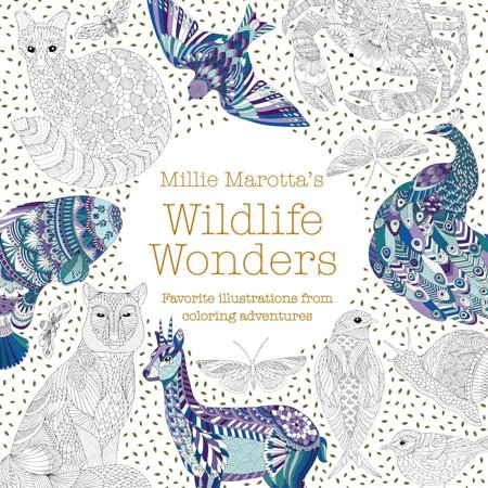 Millie Marotta's Wildlife Wonders : Favorite Illustrations from Coloring Adventures](Illustrations D'halloween)