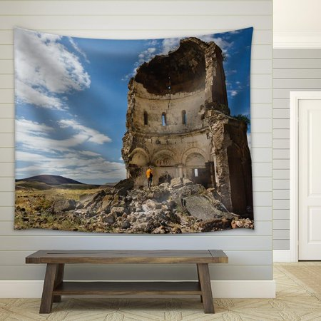 Redeemer Light - wall26 - The Church of The Redeemer - ANI, Turkey - Fabric Wall Tapestry Home Decor - 51x60 inches