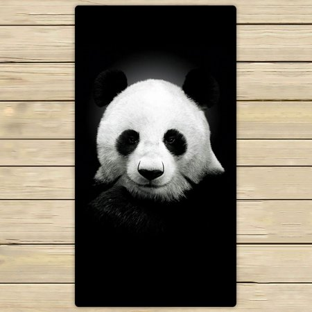 ZKGK Panda Art Hand Towel Bath Towels Beach Towel For Home Outdoor Travel Use Size 30x56 Inches (Panda Hand Towel)