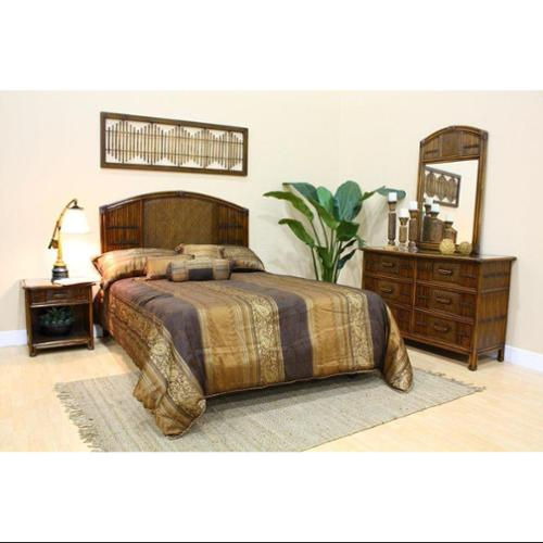 Polynesian Bedroom Set-Size:King