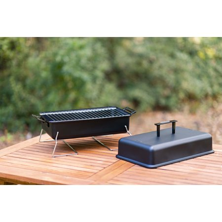 Char-Broil 190 Portable Tabletop Charcoal Grill- Black
