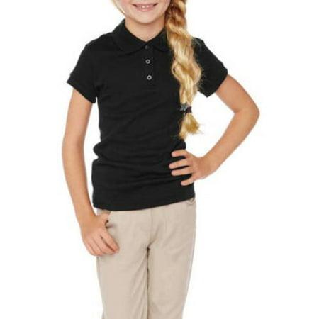 George Girls School Uniform Short Sleeve Polo Shirt (Little Girls & Big Girls)