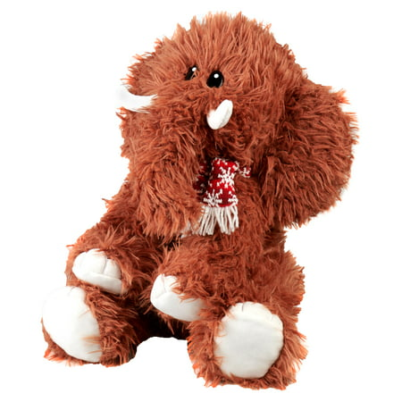 15in 1 Family Pack (Holiday Time 15in Wooly Animal Plush Mammoth Brown Made for All Ages )