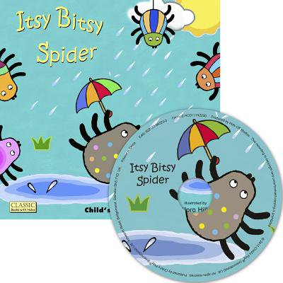 Itsy Bitsy Spider [With CD (Audio)] (Paperback) - Itsy Bitsy Spider For Kids