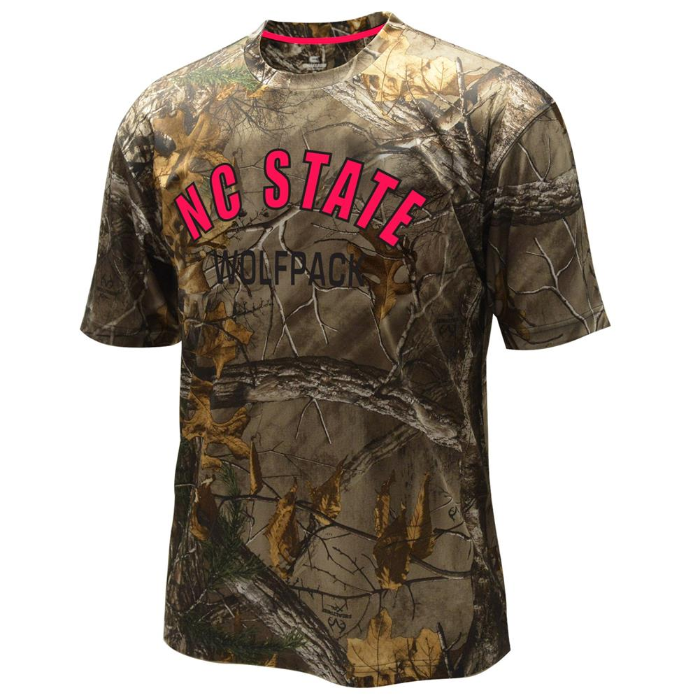 Men's Performance NCSU NC State Wolfpack Realtree Camo Tee