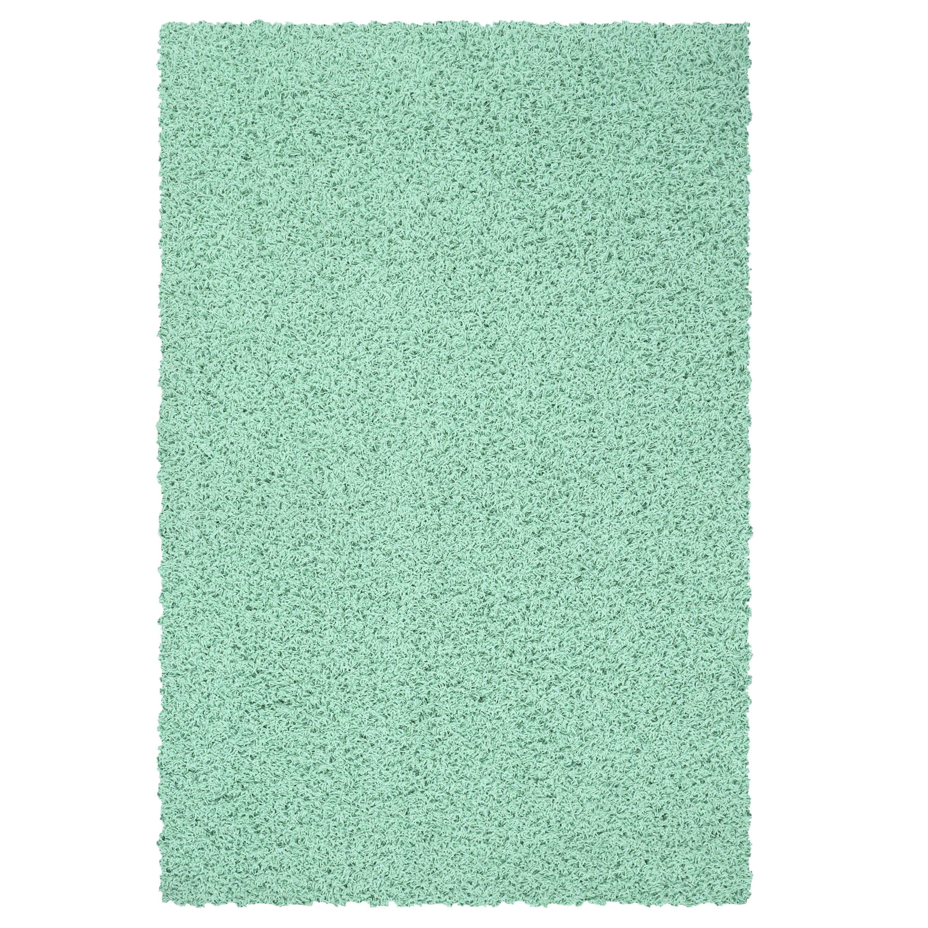 Your Zone Solid Textured Polyester Shag Rug Collection, Multiple Sizes and Colors