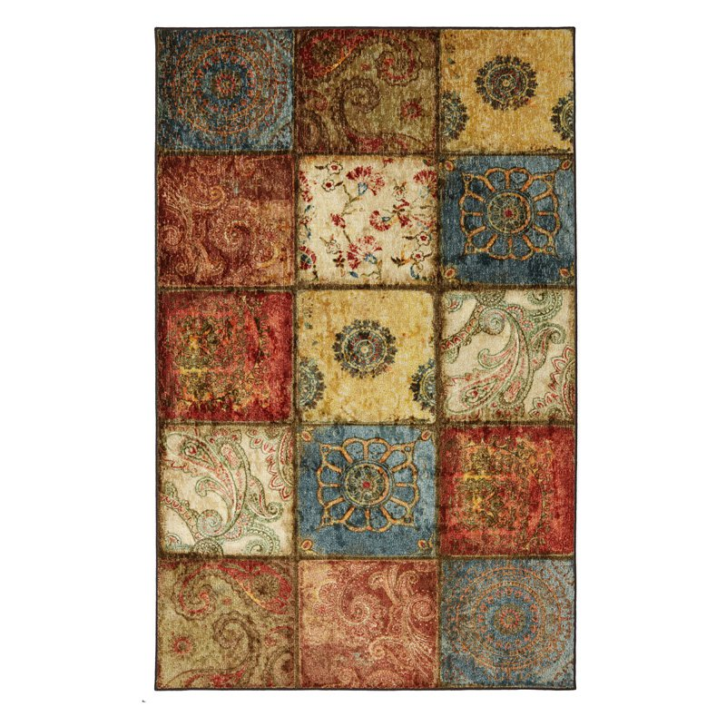 Mohawk Free Flow Artifact Panel Rug