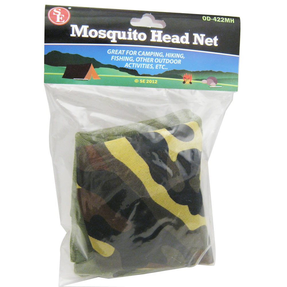 6 Pack Mesh Cap Mosquito Insect Hat Bug Mesh Head Net Face Protector Camping Lot