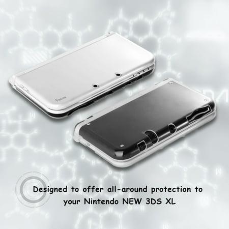 Nintendo New 3DS LL/3DS XL Case, by Insten TPU Gel Case Cover For Nintendo New 3DS LL/3DS XL, Clear - image 4 de 8