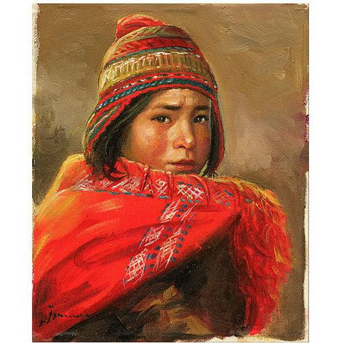 """Trademark Fine Art """"Dia de Trabajo"""" Canvas Art by Jimenez"""