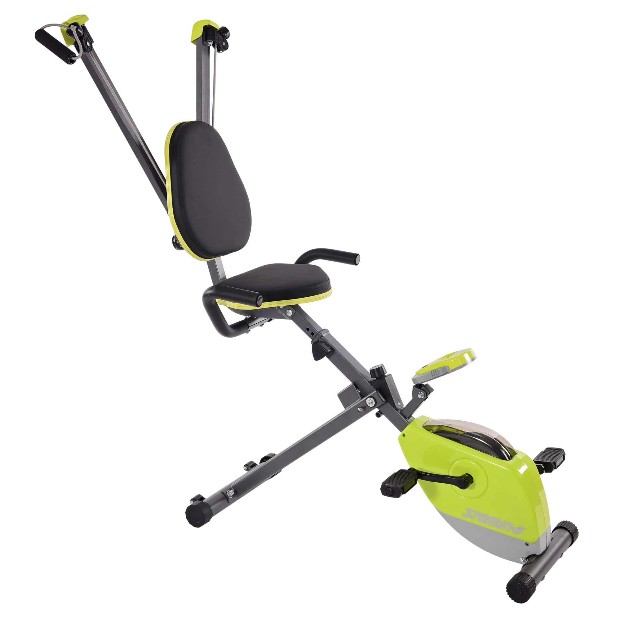 Stamina Wonder Stationary Portable Magnetic Resistance Training Exercise Bike