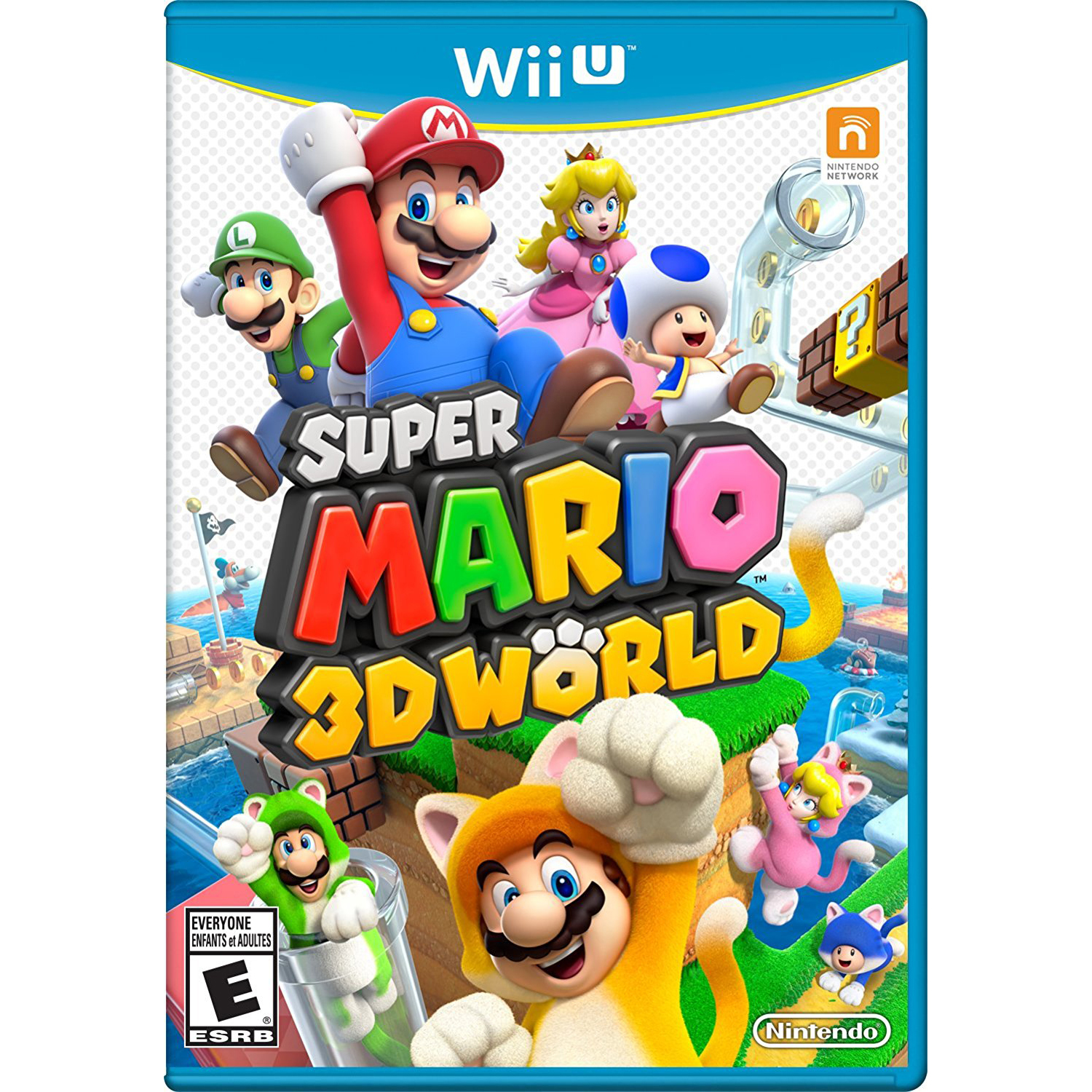 Super Mario 3D World, Nintendo, WIIU, [Digital Download], 0004549666012
