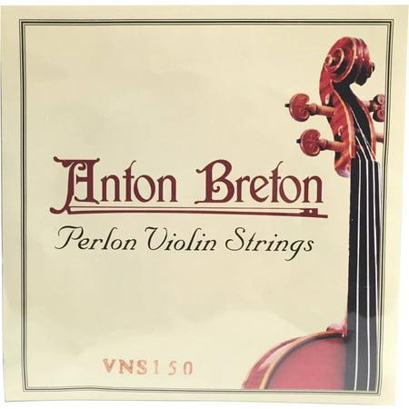 Anton Breton VNS-150 Perlon Violin Strings, 4/4 Size (Pi Violin Strings)