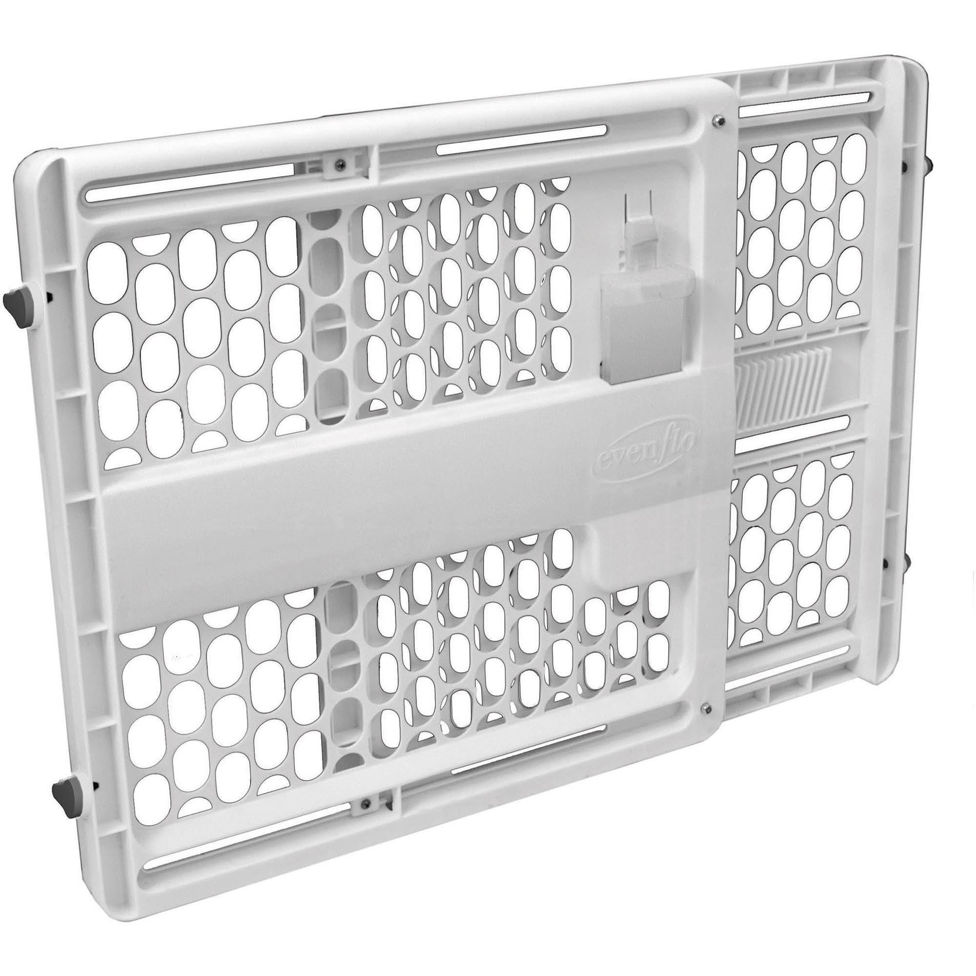 Munchkin Loft Aluminum Infant Safety Gate Silver Walmart Com