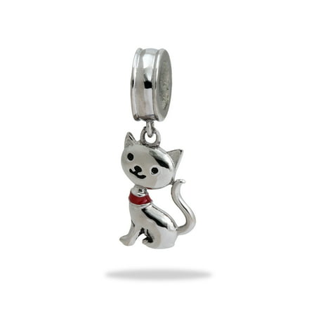 Stainless Steel Cat Dangle (Multi Dangle Charms)