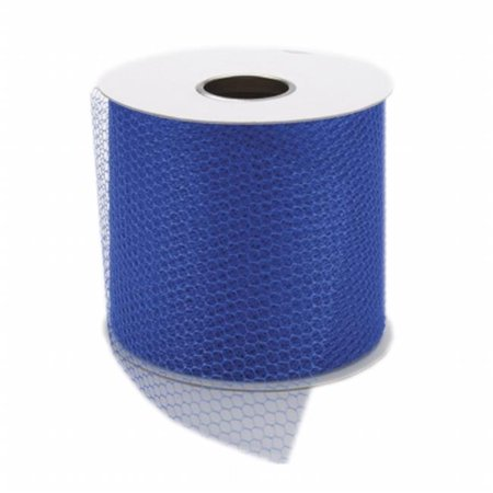 Falk 201 17-12490 Net Mesh 3 in. Wide 40yd Spool-Royal