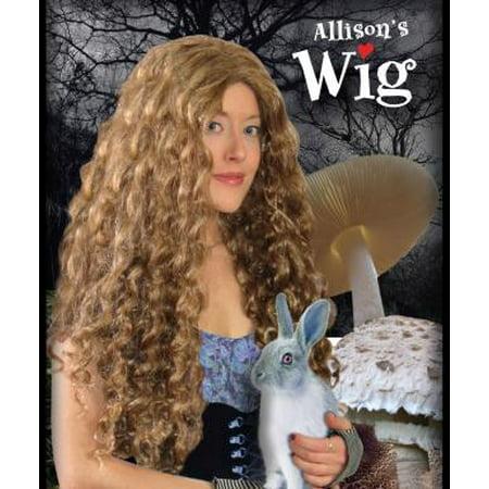 Alice In Wonderland Brown Adult Costume Wig](Wonderland Wigs)