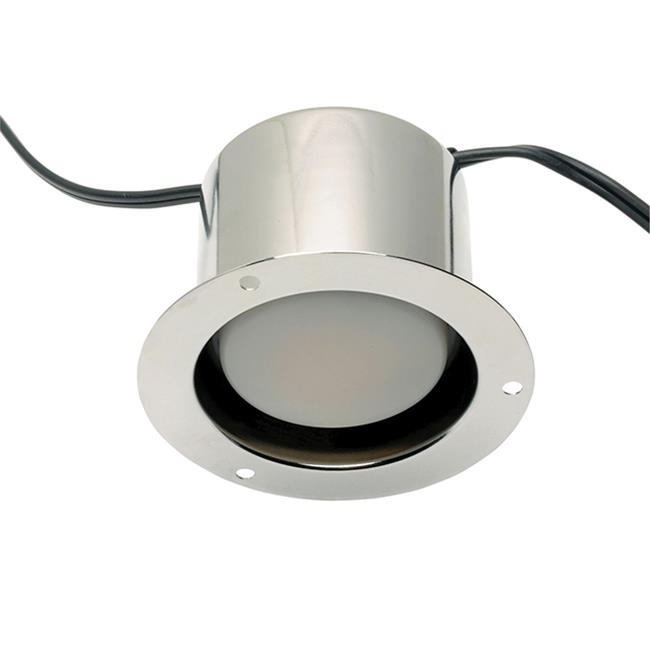 S Parker SLRDF60.827.3S.PC.SH 8 watt LED Canister Lights with Flange & Clip No Switch, Chrome - image 1 de 1