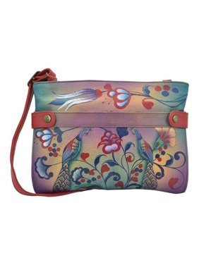 ff508e21a Product Image Women's ANNA by Anuschka Hand Painted Leather Medium Crossbody  8233 10.25