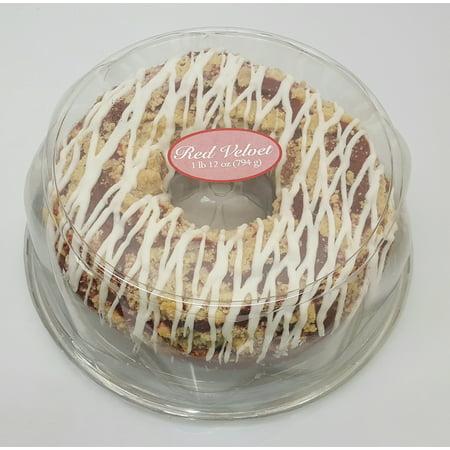 Wal Mart Bakery Red Velvet Cc Ring Cake Walmart Com