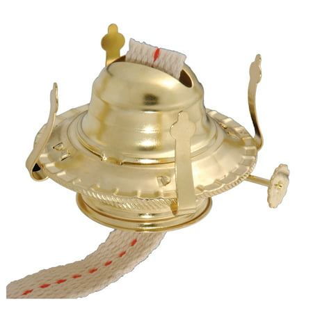 B&P Lamp® #2 Kerosene Lamp Burner (Brass)