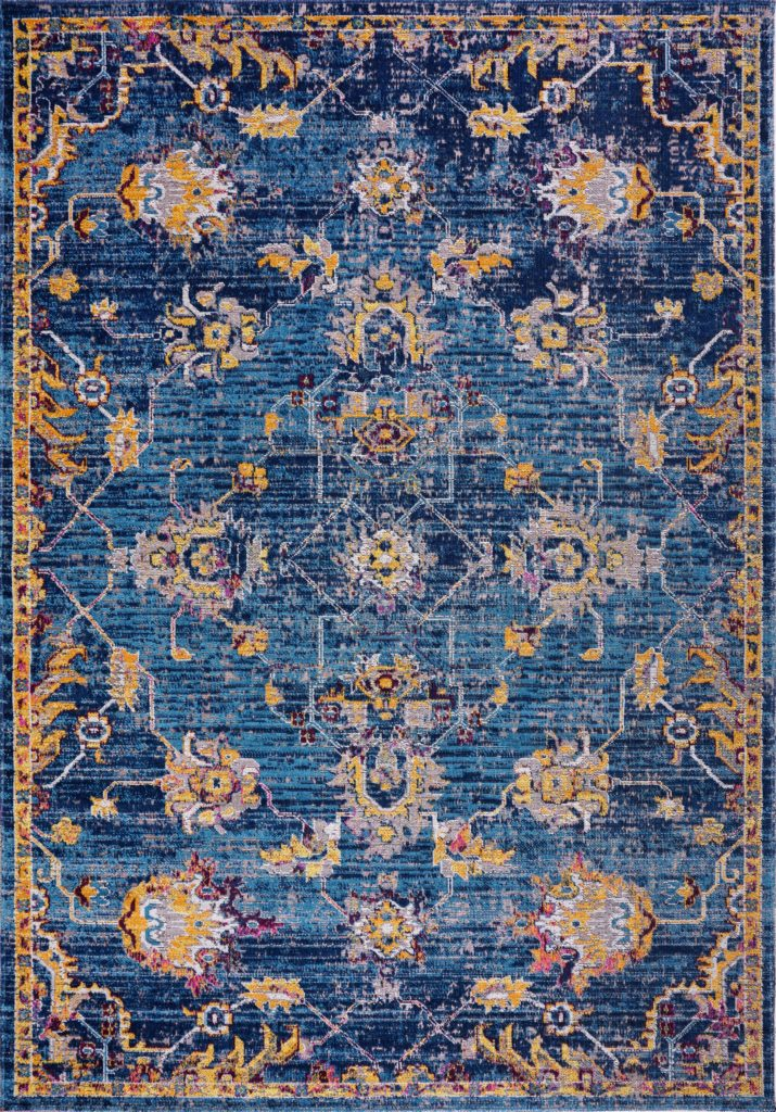 Ladole Rugs Timeless Collection Tremont Traditional Blue