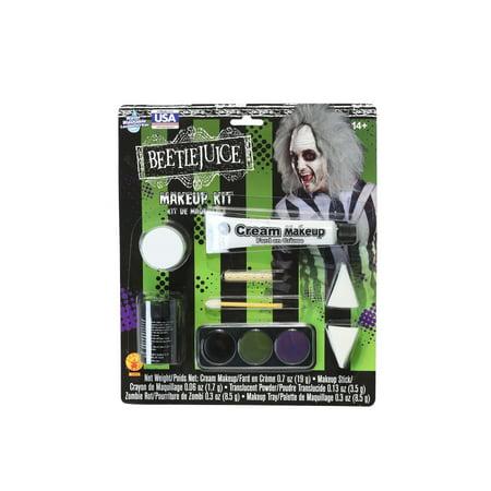 Deluxe Beetlejuice Makeup Kit - Beetlejuice Face Paint
