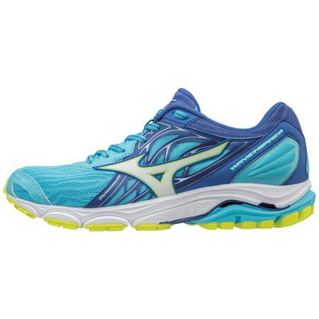 mizuno women's wave inspire 14 running shoe, aquarius/white, 12 b us - Converse Clearance Sale