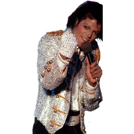 Michael Jackson With Glove (Michael Jackson Sequin Glove for)